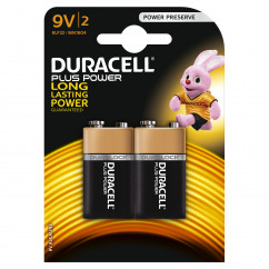 DURACELL Batterie PLUS POWER E-Block Pack = 2 Stück