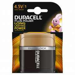 DURACELL Batterie PLUS POWER 4,5 V Flachblock