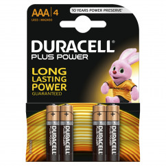 DURACELL Batterie PLUS POWER Micro AAA Pack = 4 Stück