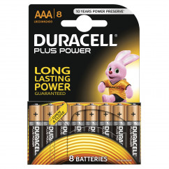 DURACELL Batterie PLUS POWER Micro AAA Pack = 8 Stück
