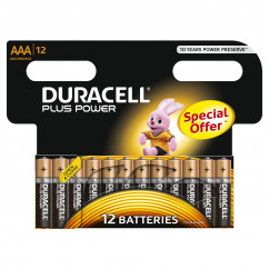 DURACELL Batterie PLUS POWER Micro AAA Pack = 12 Stück