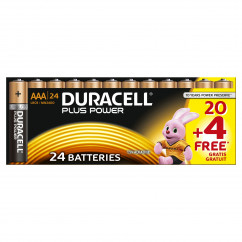 DURACELL Batterie PLUS POWER Micro AAA Pack = 24 Stück