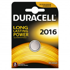 DURACELL Knopfzelle Lithium Electronics CR2016