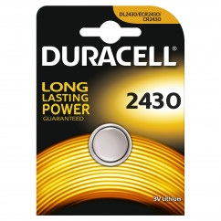 DURACELL Knopfzelle Lithium Electronics CR2430
