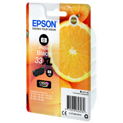 EPSON Tintenpatrone 33XL / T3361XL photo schwarz