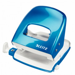 LEITZ 5008 NeXXt Series WOW Metalllocher blau-metallic