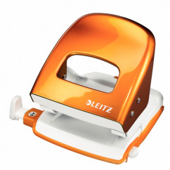 LEITZ 5008 NeXXt Series WOW Metalllocher orange-metallic