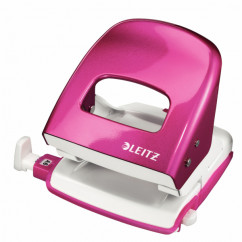 LEITZ 5008 NeXXt Series WOW Metalllocher pink-metallic