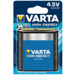 VARTA Batterie Flachblock High Energy 4,5 V
